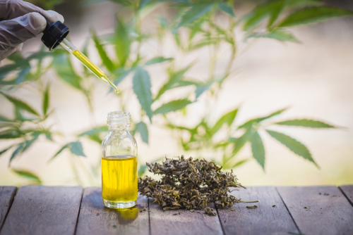 Crude Hemp Oil